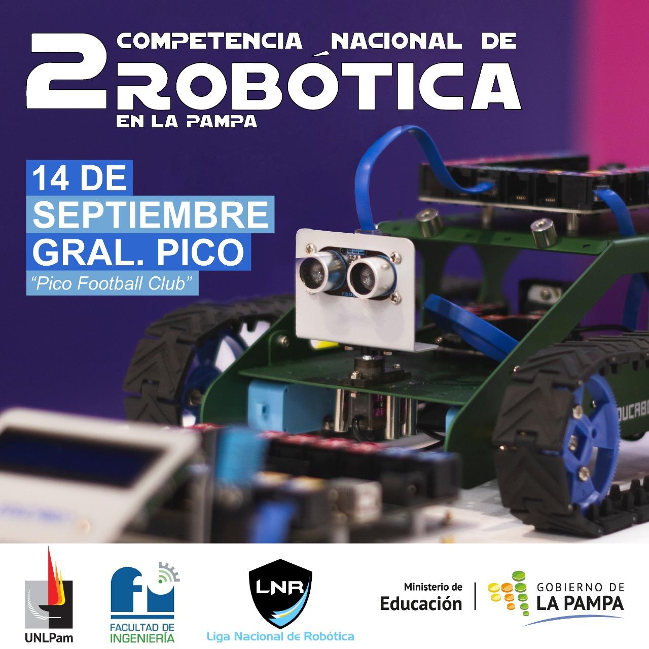 Robótica: La Pampa sede nacional