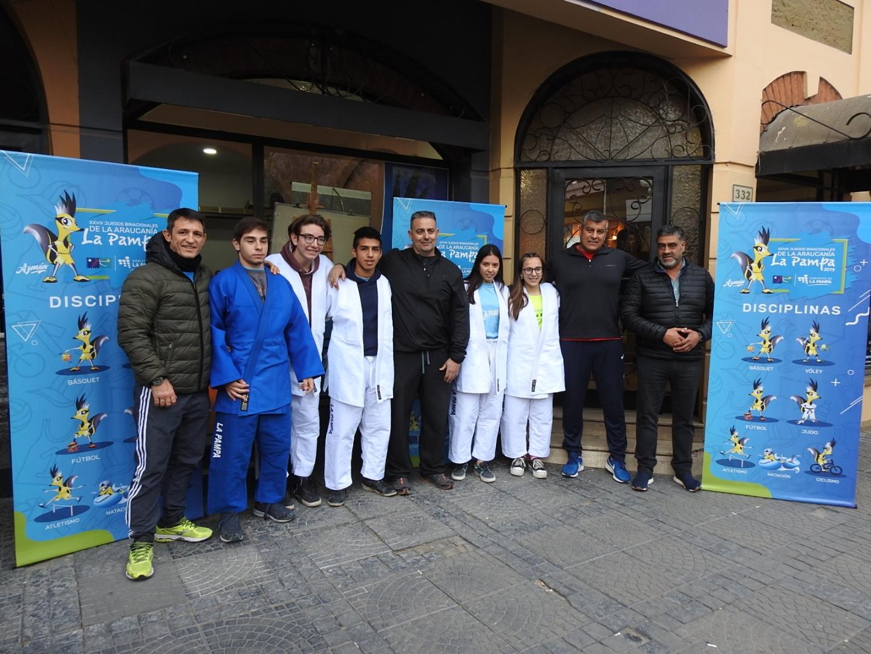Araucanía: judo con judogis