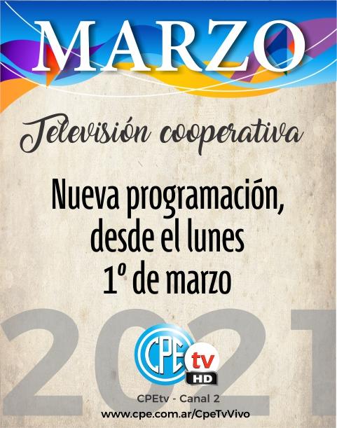 Marzo en CPEtv