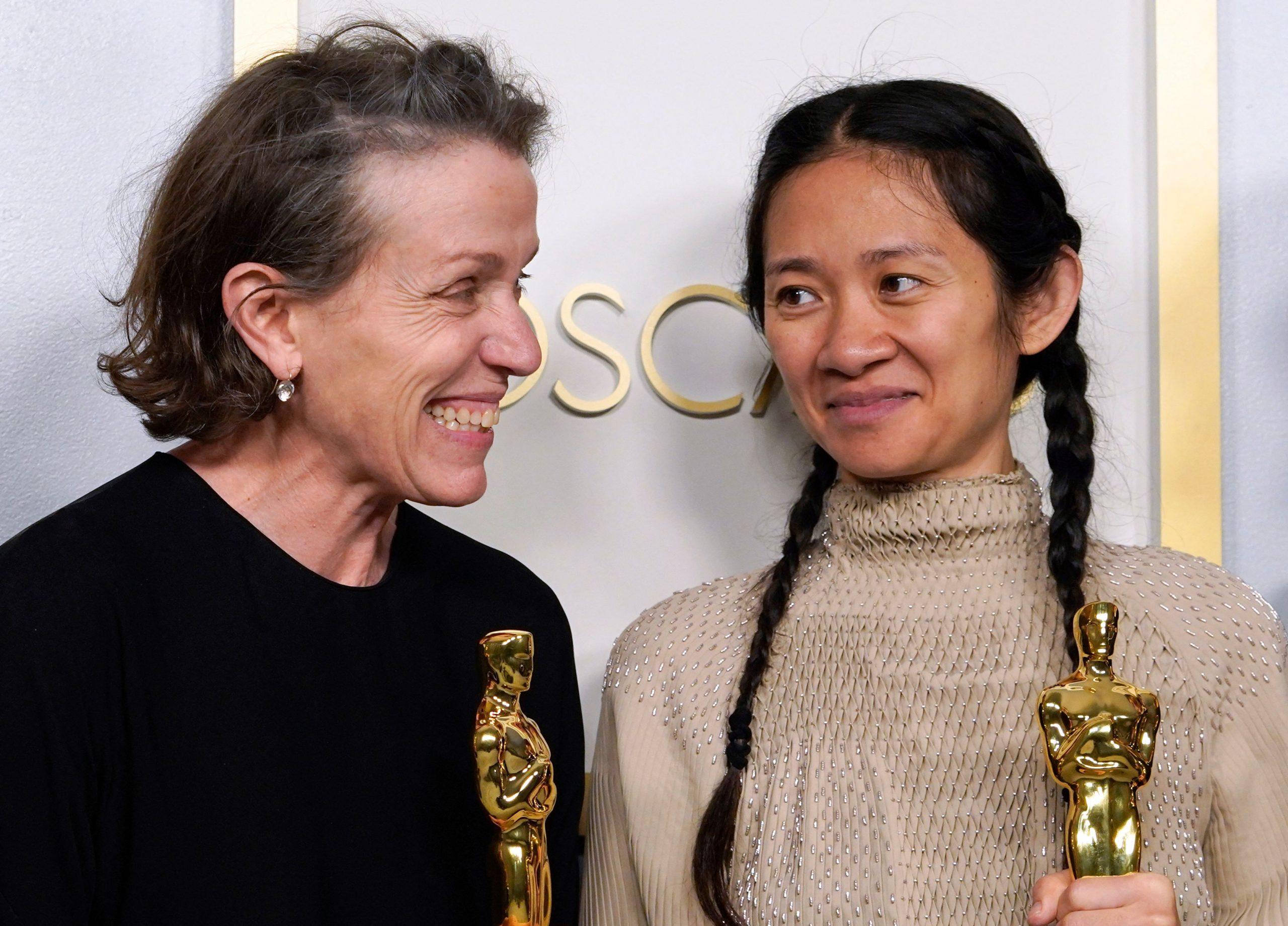 """Nomadland"" triunfó en los Oscars"