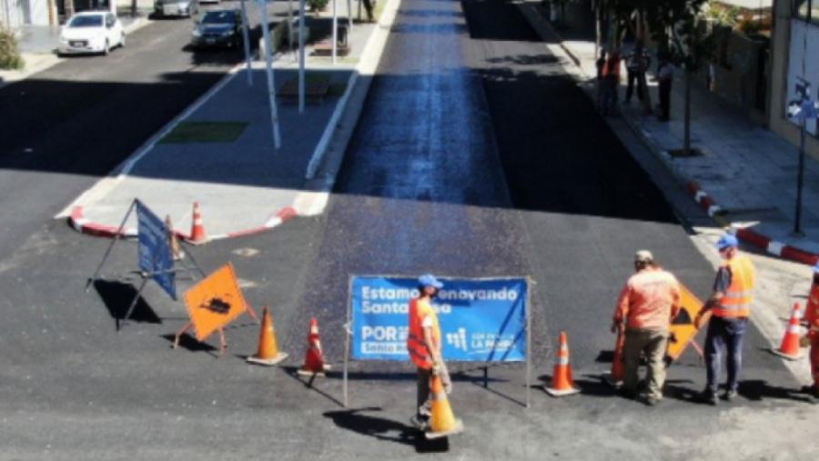 Santa Rosa: interrupción de calles